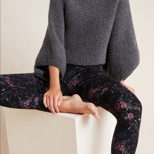 Anthro fur lined tights